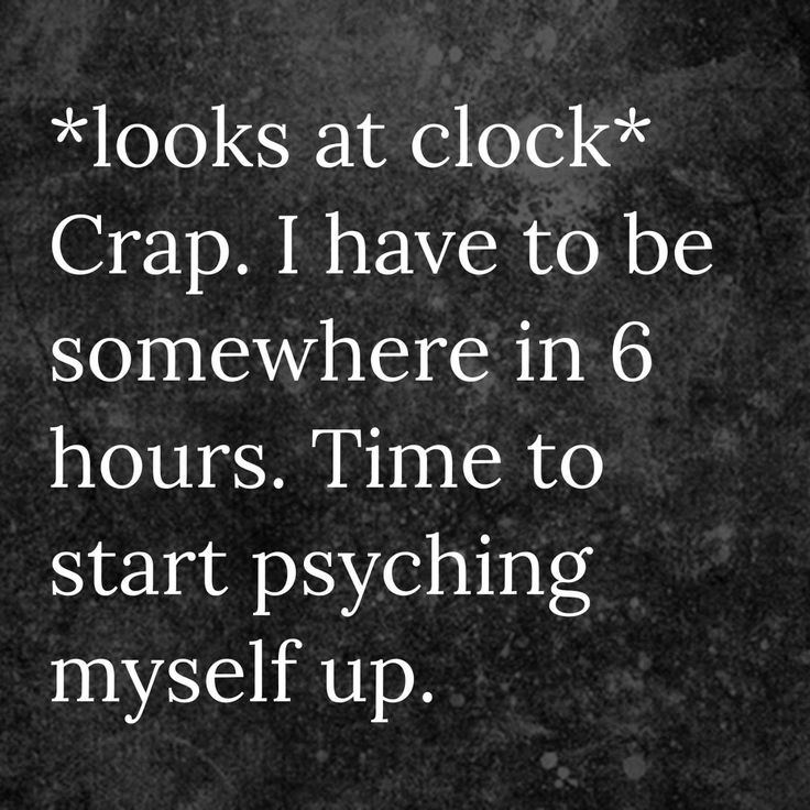 Literally what I do.<<I wake up  almost two hours earlier than I'd have to just so I can prepare for school-socializing...