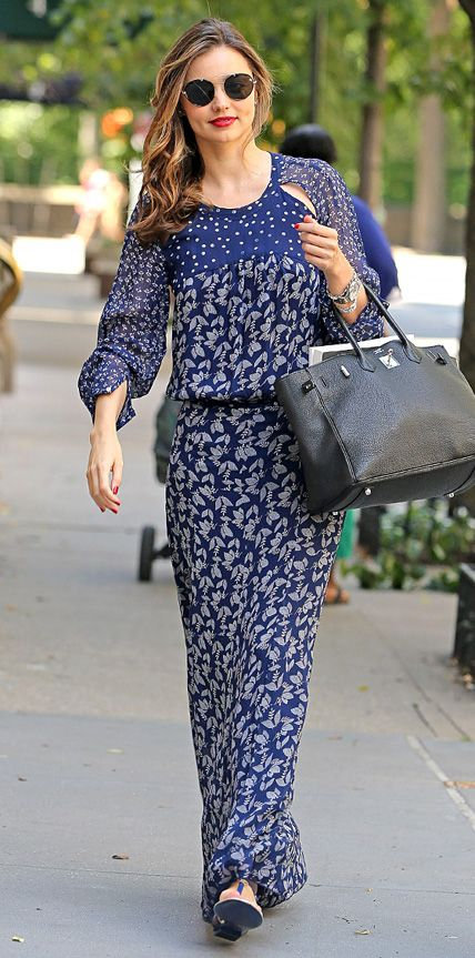 Look of the Day - July 7, 2014 - Miranda Kerr from #InStyle