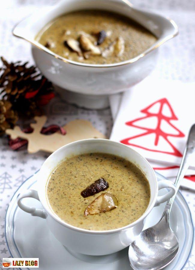 Lazy Blog: Receta de crema de boletus. Un entrante para la comida de Navidad