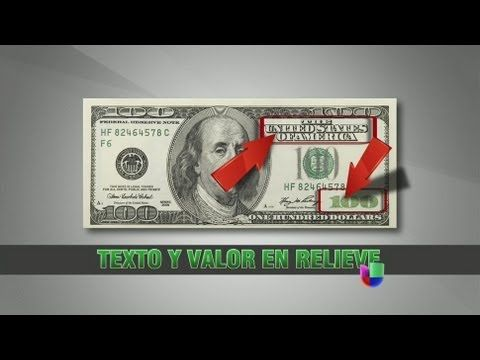 Como identificar dólares falsos