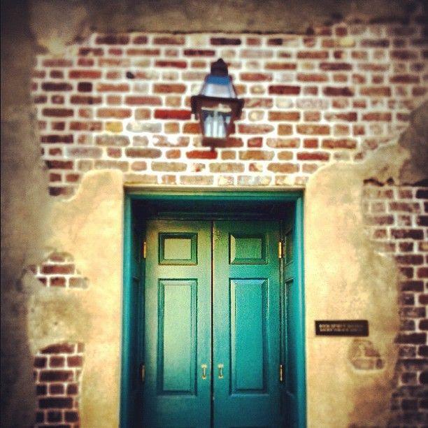 The Dock Street Theatre rear stage door - on Queen Street in Charleston S.C. Built & 94 best Doors Around The World images on Pinterest | The doors ...