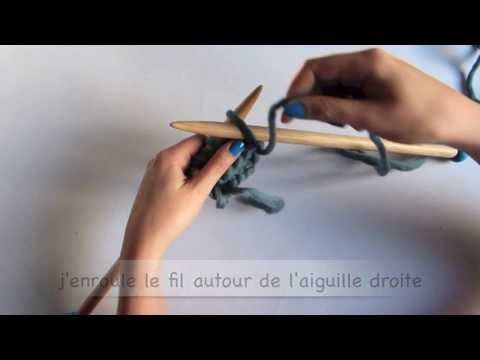 # Tricot # Comment tricoter la maille envers (jersey) by WoolKiss