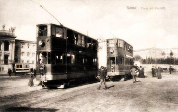 Il 19 Febbraio del 1906 viene inaugurato il primo tronco della linea tranviaria elettrica dei Castelli Romani, la Roma/Frascati. Il servizio extraurbanoserve la tratta Roma-Grottaferrata-Frascati