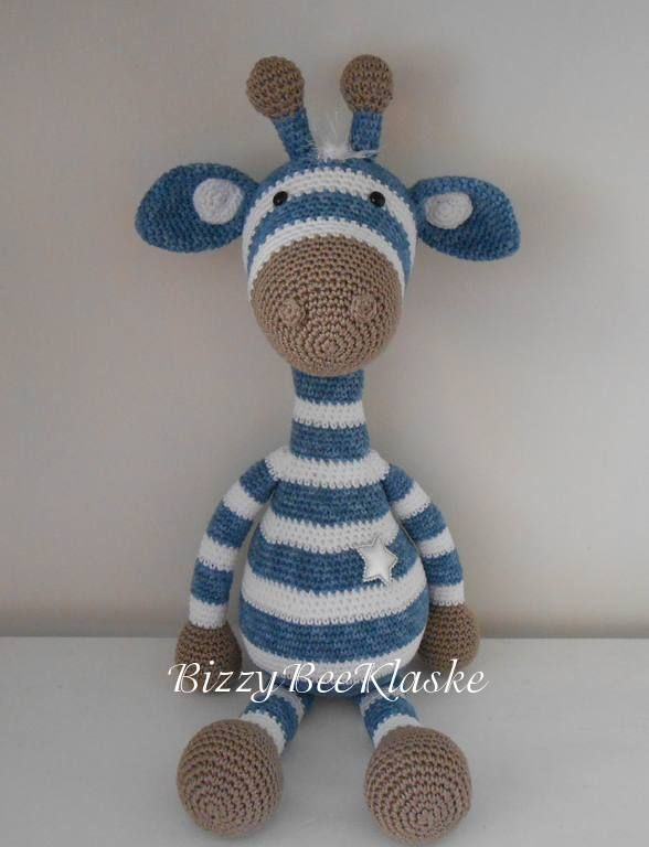 Amigurumi Giraffe Haken : 17 Best images about Crochet - Giraffes ! on Pinterest ...