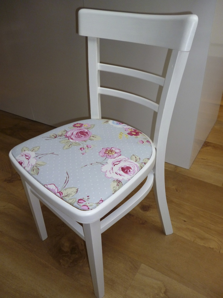 Vintage Kitchen Chair Painted In Farrow & Ball Wimborne