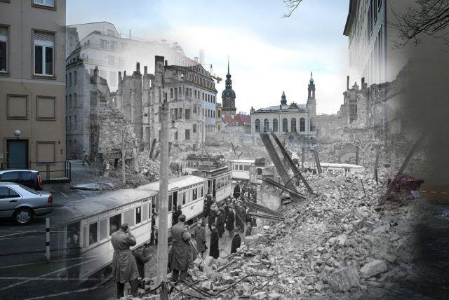 Mit zahlreichen Veranstaltungen wird am Montag ab 10.00 Uhr an die Bombardierung und Zerstörung Dresdens vor 72 Jahren erinnert.   Vom 13.-15. Februar bombardierten die westlichen Alliierten Dresden, Zeitzeugen sprechen dabei von einem gezielten Angriff auf die Zivilbevölkerung. Zu diesem Zeitpunkt stand die rote Armee bereits an der Oder und viele Flüchtlingstrecks aus Osteuropa waren nach Westen unterwegs. Die Opferzahlen sind bis heute umstritten.