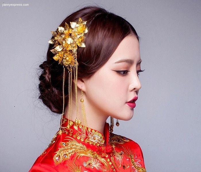 Asian Hair Style Wedding: 265 Best Wedding Qipao / Cheongsam Bridal Kwa Qun Couture