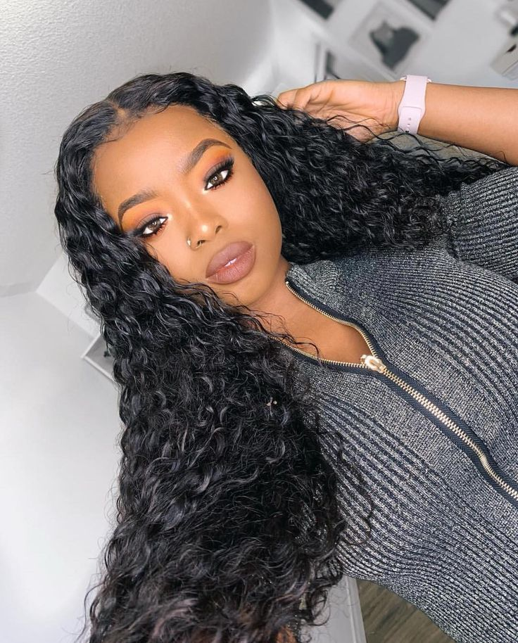 Virgin Human Hair Tiny Curly Lace Front Wigs with Baby
