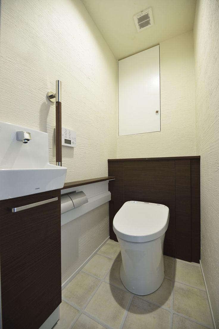 リフォーム・リノベーションの事例|トイレ|施工事例No.496無垢材や珪藻土。ほんもの素材はパパとママからの贈り物|スタイル工房
