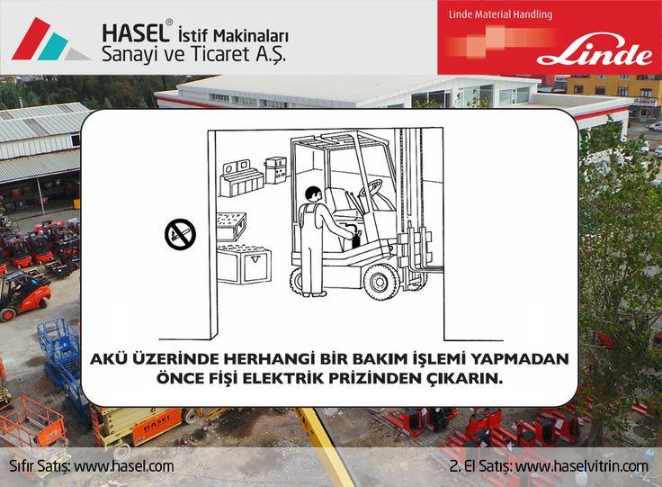 Önce İş Güvenliği!Akü üzerinde herhangi bir bakım işlemi yapmadan önce fişi elektrik prizinden çıkarın. www.hasel.com | www.haselvitrin.com