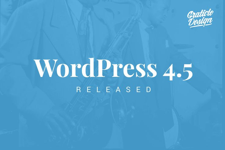 """WordPress 4.5 was released on April 12, 2016, with the name of """"Coleman"""" (in…"""