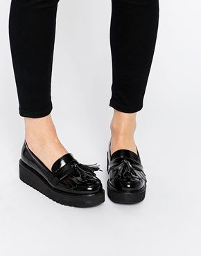ASOS - OUTRIGHT - Mocassini flatform