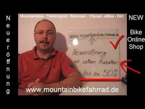 Fahrrad Online Shop der keine Wünsche offen lässt  http://www.youtube.com/watch?v=XveNk78Dohk&feature=share&list=UUUo6g4uk_KTXtBvhNzlhV3g    www.mountainbikefahrrad.de