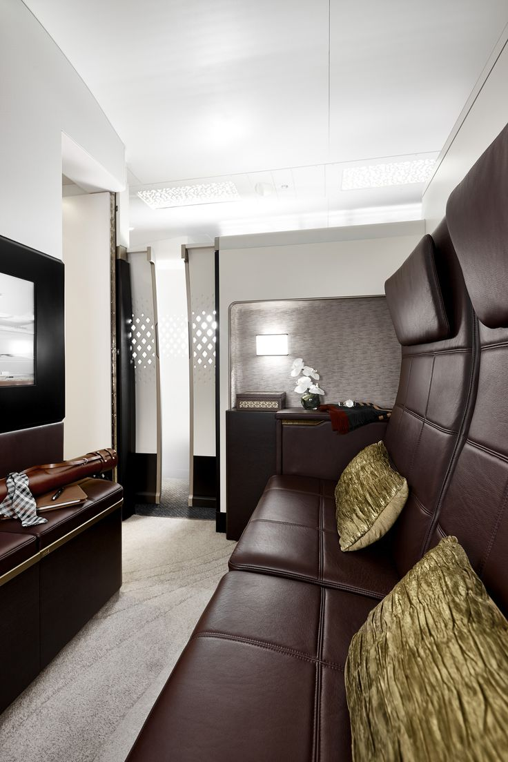 New level of luxury air travel by #Etihad #FirstClass #Residences