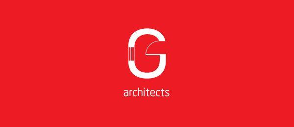 letter g logo design g architects http://hative.com/40-cool-letter-g-logo-design-inspiration/