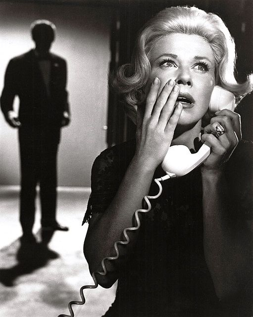 """""""Midnight Lace"""", a 1960 American mystery-thriller film starring Doris Day and Rex Harrison, directed by David Miller."""