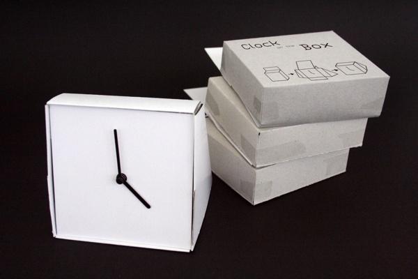 Clock In Box  [2010] by Eduardo Lopes, via Behance