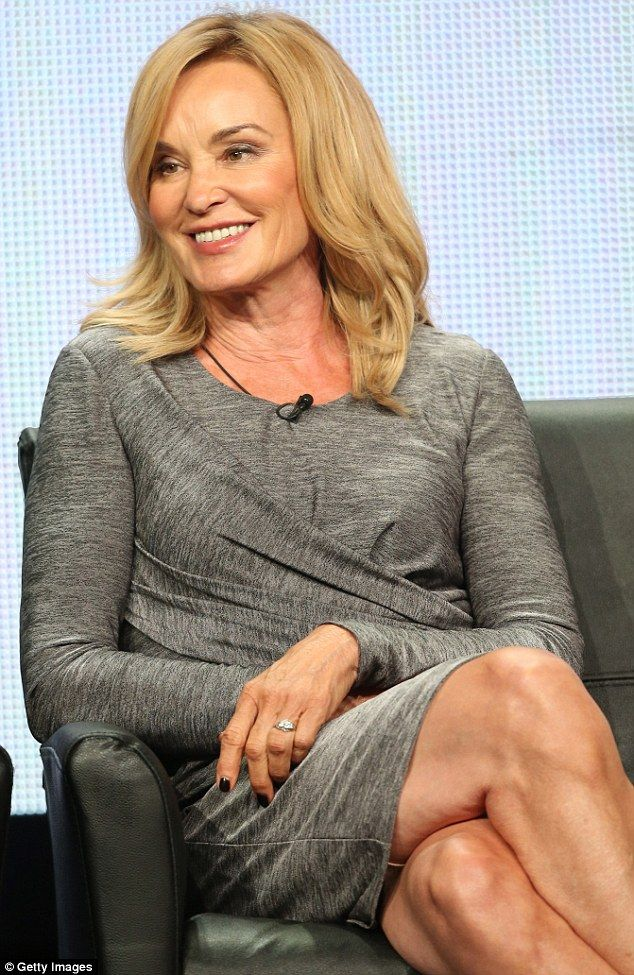 Nunsense: Jessica Lange of American Horror Story: Coven panel discussion on Friday in Beverly Hills, California 1 Aug 2013