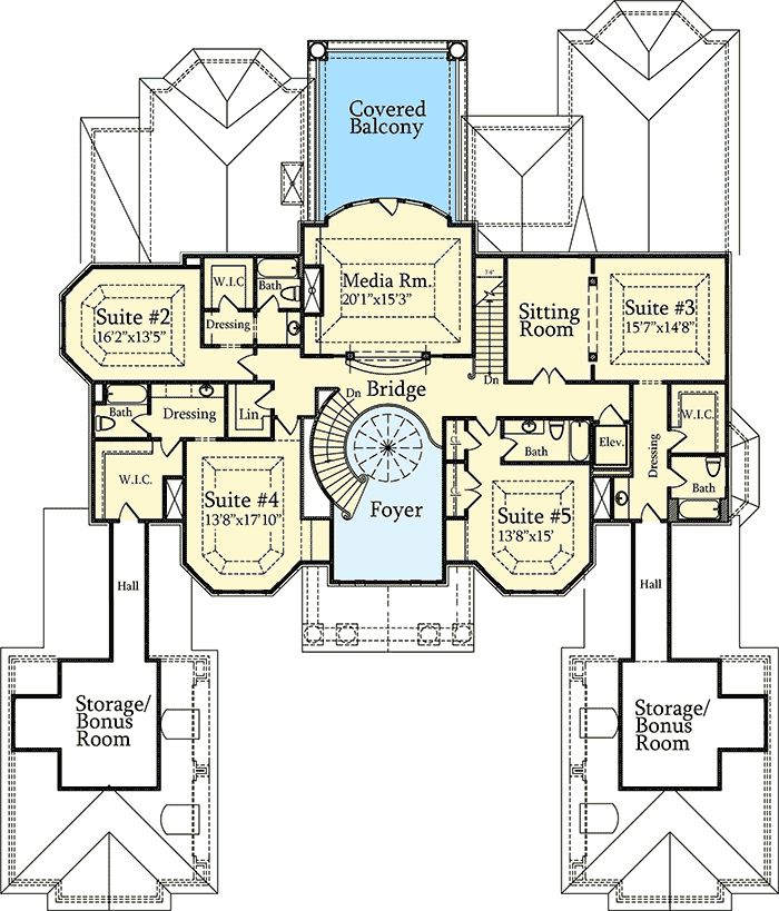 Architectural design luxury house plans