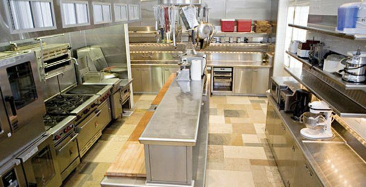 Catering Kitchen Fleur De Lys Mansion Los Angeles