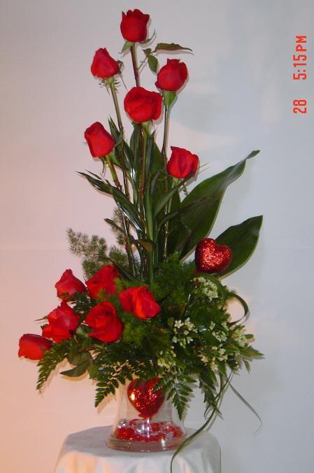 M s de 25 ideas fant sticas sobre arreglos florales - Centros florales navidenos ...