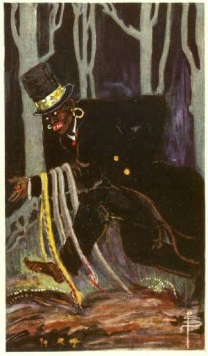 Baron Samedi by Pamela Colman Smith (1878 – 1951)