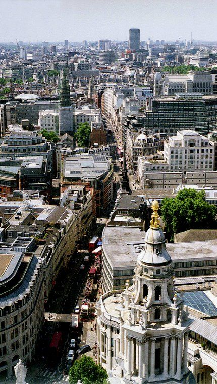 London from St. Paul's Cathedral #LONDONhotelcleaning #hotelhousekeeper #shieldsecurity