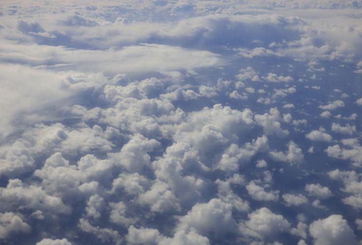 Wolken über dem Meer, Foto: S. Hopp