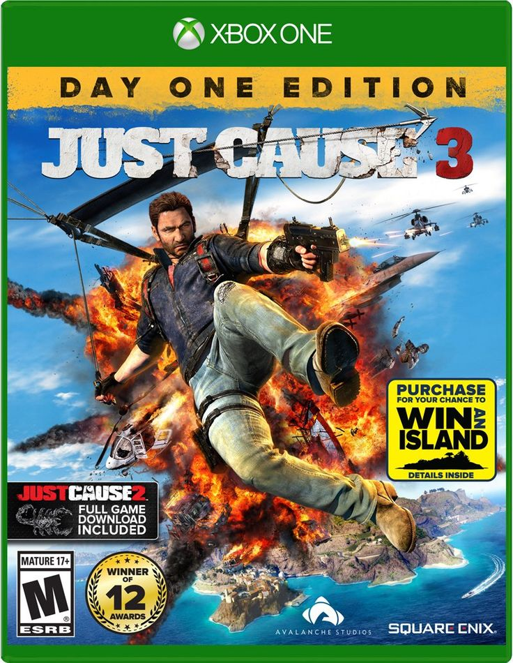 Amazon.com: Just Cause 3 - Xbox One: Video Games COOLEST Game ever!!! Its ALL ABOUT EXPLOSIONS!!!!! All you.do is different ways to cause destruction and CHAOS!!