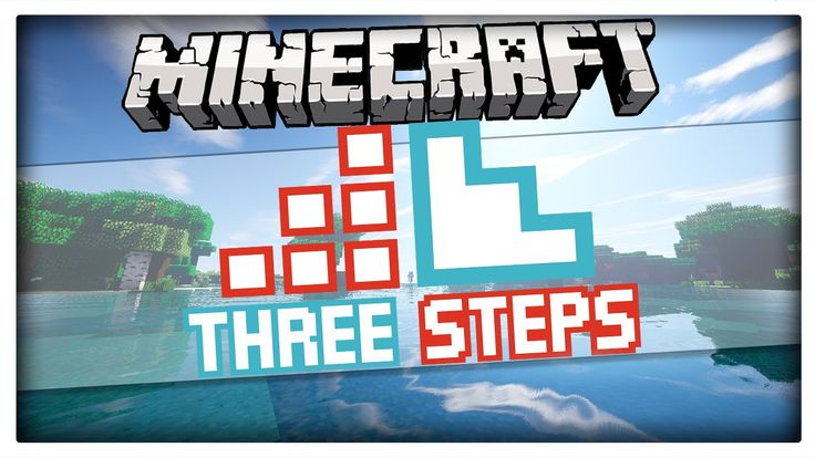 """Minecraft 1.8.1 - """"Three Steps"""" 3D Texture Pack (Resource pack by Moesh)"""