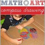 Compass Math Art: Round and Round