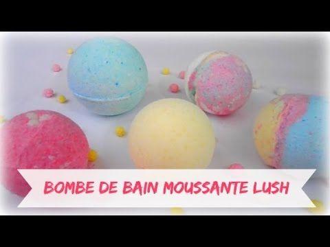 ✁ DIY - LUSH Bombes de bain moussante - FRANCAiS - YouTube