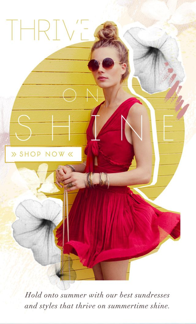 Hold onto summer with our best sundresses and styles that thrive on summertime shine.