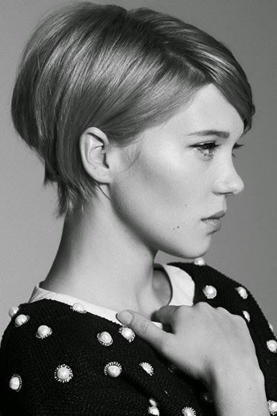 Tuck Long Ends Behind Ears & Add Some Body In Back  12 Tips To Grow Out Your Pixie Like A Model