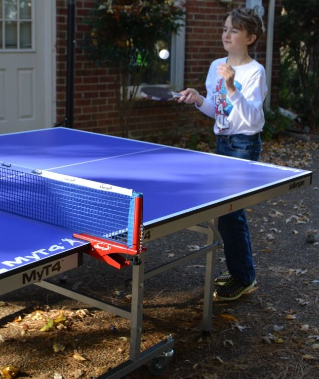 #Killerspin table tennis makes it easy to #UnPlugNPlay and have real life fun with real life people, interacting as a family and making memories. #ad