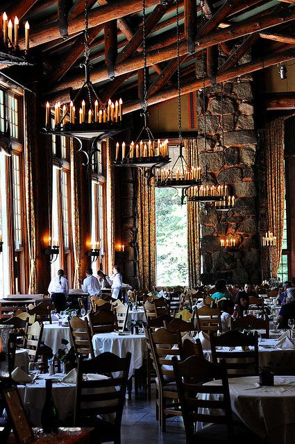 Awahnee Hotel's Dining Room by Sasha Stone, via Flickr