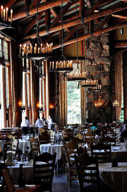 Awahnee Hotel's Dining Room by Sasha Stone, via Flickr