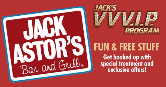 Get $10 off Your Next Visit and More Great Offers from Jack Astor's    Get it now:    http://free4him.ca/restaurants-and-fast-food/jack-astors-vvvip-program/