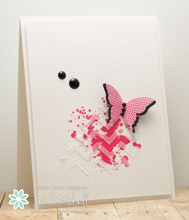 Stamps:  Gorgeous Grunge, Papillon Potpourri (SU) by Jen Mitchell. . .