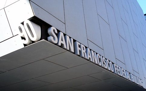 SIgnage for the Federal Building in San Francisco.