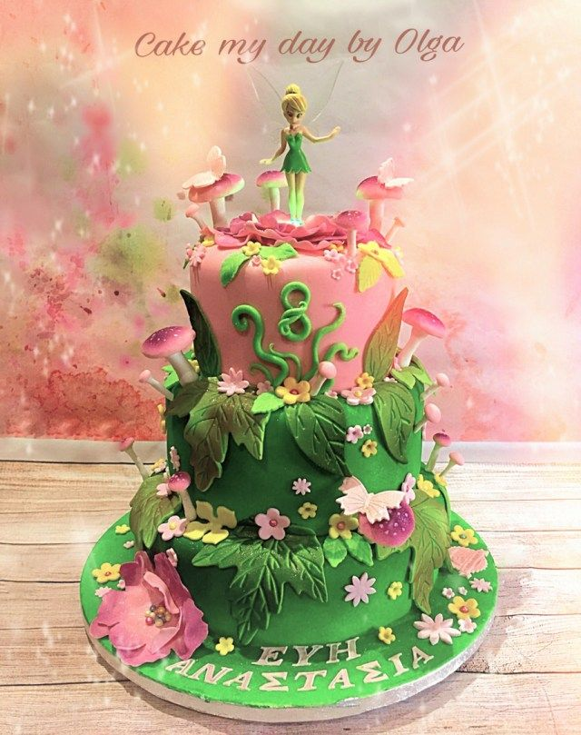 23 Wonderful Picture Of Tinkerbell Birthday Cake Entitlementtrap Com Tinkerbell Birthday Cakes Tinkerbell Cake Fairy Birthday Cake