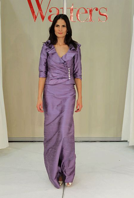 Mother of the Bride – Watters, Spring 2013.  Purple