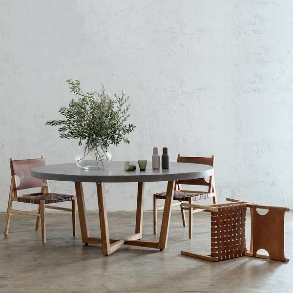 Pre Order Aria Concrete Granite Dining Table 150cm 4 Jensen