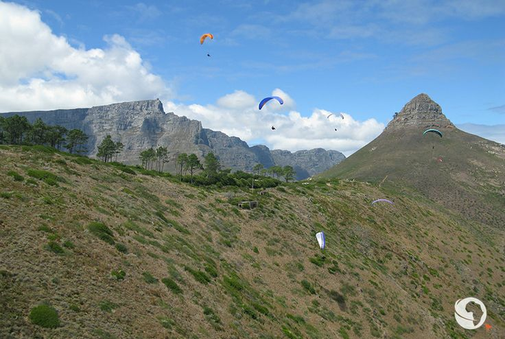 #AfricanAdventure #Paragliding #LionsHead #CapeTown #SouthAfrica