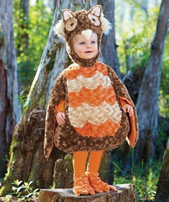 fuzzy owl baby costume - Whooo, everyone will ask, is this adorable owl at our door? Your owlette will charm in this scrumptious bodysuit with bubble shape and satin-lined wings. #halloween #babycostume