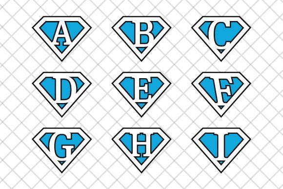 #Superman #letters v4 ~ Illustrations on Creative Market