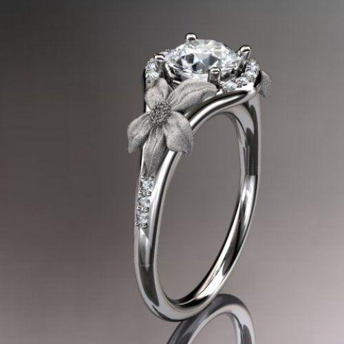 PrettyyyRingengag Rings, 14Kt Rose, Diamonds Leaf, Rings Engagement Rings, Vines Wedding Rings, Gold Diamonds, Spring Collection, Rings Adlr91, Rose Gold