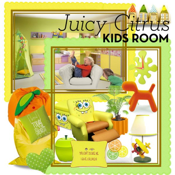 Juicy Citrus Kids Room
