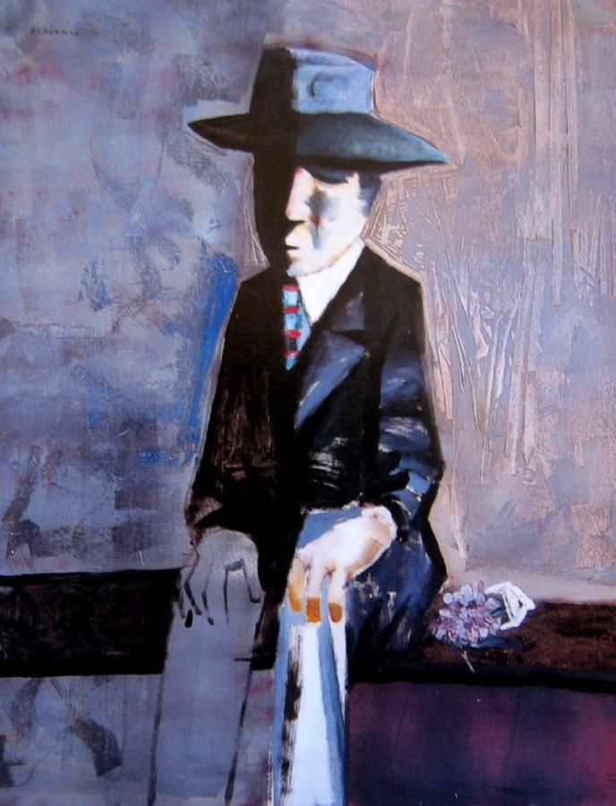 Charles Blackman  The Suitor c. 1958