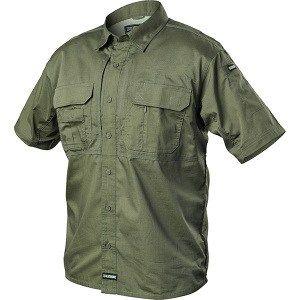 The BlackHawk Tactical Pursuit Shirts, Short Sleeve, Jungle, X-Large